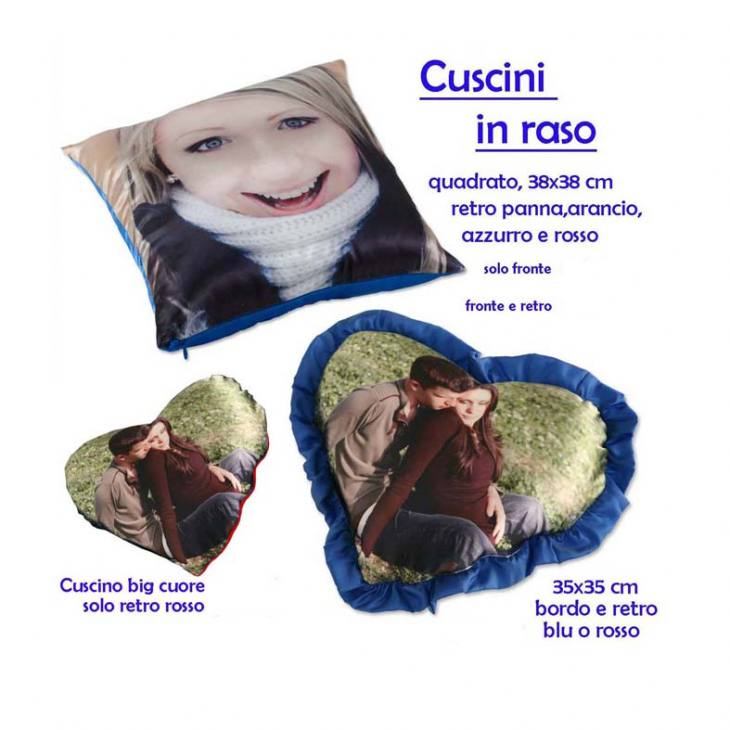 Idee Regalo – Cuscini in raso